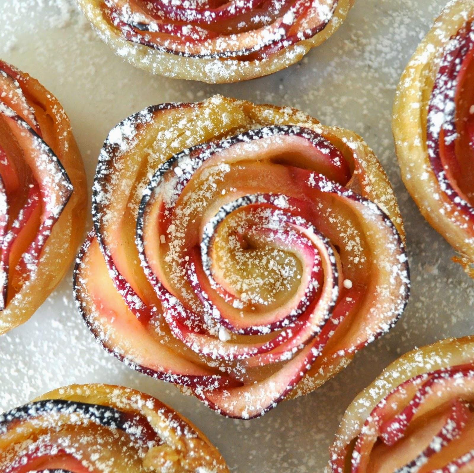 출처 : http://cookingwithmanuela.blogspot.kr/2015/03/apple-roses.html#more