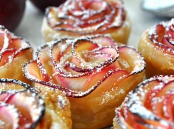 '장미꽃' 닮은 달콤한 사과 디저트