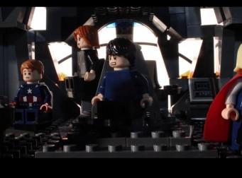 '어벤져스2′ 예고편을 레고로 만든 동영상