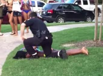 14세 흑인소녀 무자비하게 진압한 美경찰 영상 논란