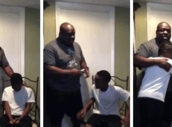 유튜브에서 70만이상 본 아빠의 체벌(동영상)