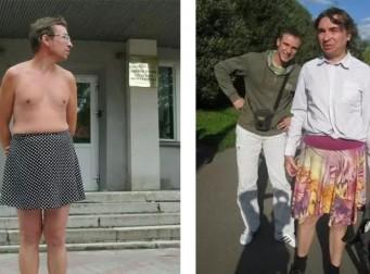 바지 대신 치마와 드레스를 입는 남성의 사연(사진3장)