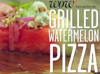 맛 좋은 수박 피자 만들기 (동영상)