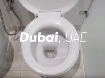 90초 동안 세계의 공중화장실 둘러보기 (동영상)