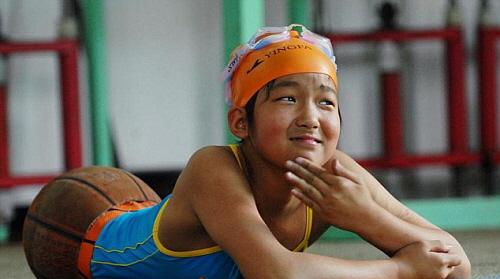 Qian- China's Basketball Girl
