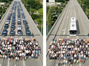 자가용이 없는 도시는 어떤 모습일까? (사진 3장)