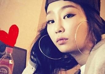 '언프리티 랩스타2′ 효린, 일상 셀카 '돋보이는 귀걸이'