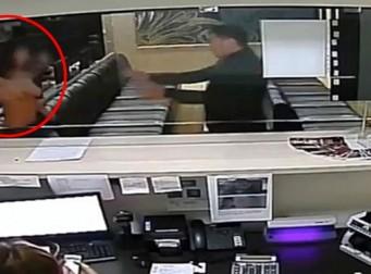 은밀한 '그곳'을 무기로 사용한 女 (동영상)