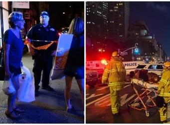 뉴욕 번화가에서 토요일 밤 대형 폭발로 공포와 혼란