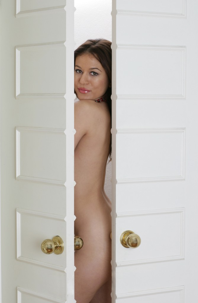 Naked at the Door