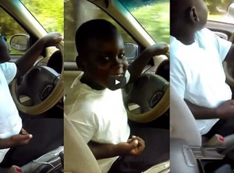 '잘한다 우리 아들' 7세 아동 운전시키고 동영상 찍은 황당한 엄마(동영상)