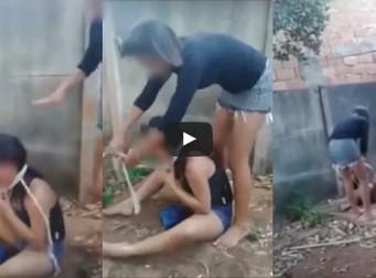 '왜 내 남자한테 꼬리쳐' 10대 소녀 칼과 나무 막대로 4시간 동안 고문한 10대 여학생들 검거(동영상)