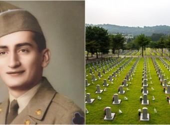 한국전쟁에 참전한 미군 병사 65년만에 고향으로 돌아간다.