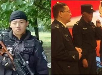 인질 구하려 불 속으로 뛰어든 경찰 특공대원