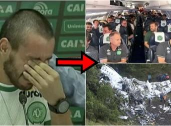 비행기 추락사고에서 극적으로 생존한 브라질 축구팀 선수가 밝힌 당시 상황(동영상)