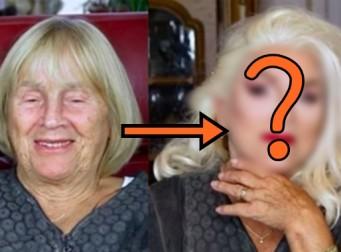 """""""남편이 좋아하겠죠?"""" 화장한 할머니들의 'before&after'(사진 6장)"""
