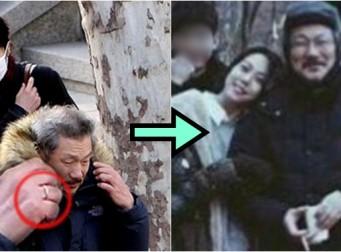 '불륜설' 김민희, 홍상수 감독에 팔짱끼고 세상 다 얻은 미소