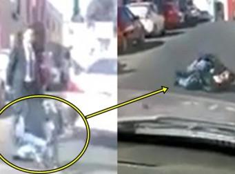 도로 위에서 말다툼 하다가 '총' 맞은 남성 (동영상)