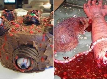 """""""식욕 억제에 효과 있을듯"""" 혐오스럽고 무섭게 생긴 케이크들 (사진 10장)"""