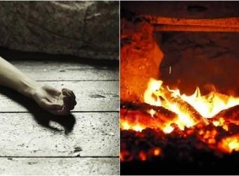 부인 죽인 후, 아궁이에 불을 붙여 '태워 없애버린' 남편