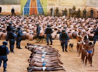 '수용 초과 인원 5배' 쥐와 전갈이 돌아다니는 브라질 교도소(사진 3장)