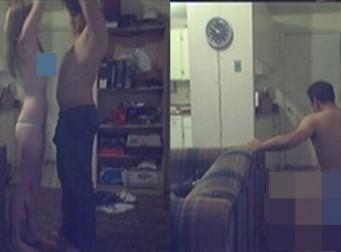 바람 피우는 여친 집에 몰카를 설치한 남자 (사진4장)