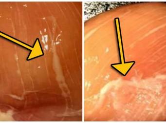 닭가슴살 표면에 있는 '흰색 줄'의 숨겨진 의미