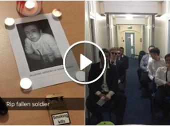 죽지도 않은 친구의 장례식을 올린 이유 (동영상)