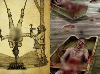 세상에서 가장 잔인한 10가지 처형방법 (사진 10장)