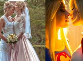 이 두 여성 코스플레이어가 찍은 웨딩 사진은 한 폭의 동화같다 (사진12장)