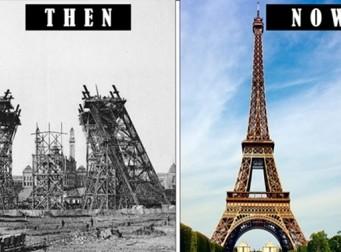 세계 유명 건축물의 지어지기 전과 후의 모습 (사진16장)