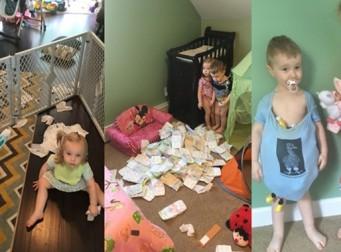 세 아이를 키우는 '엄마'의 흔한 일상 (사진24장)