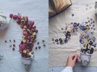 '찻잔'으로 예술을 창조해낸 예술가 (사진10장)