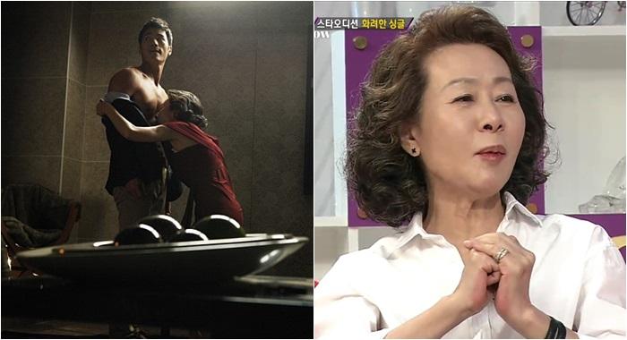 배우 윤여정이 '31살 차이' 베드신을 감행한 이유