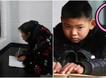 교실 뒤에서 매일 수업 들으며 '공책 필기'하는 할머니의 가슴 아픈 사연 (사진 4장)
