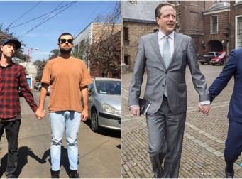 네덜란드 남성들이 서로 '손을 잡고' 길을 걷는 이유