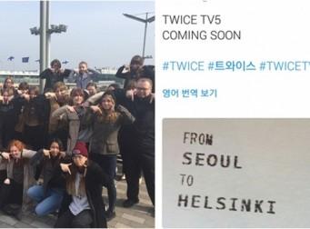 """From Seoul To Helsinki"" 핀란드 팬들 농락한 트와이스"