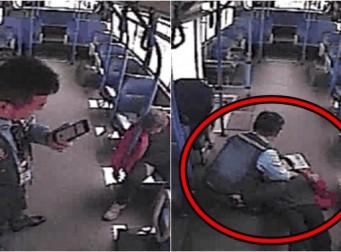 의식 잃은 승객 심폐소생술로 살려낸 '버스기사'