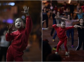 중국 최연소 '춤 선생님' 5살 소녀의 댄스댄스 (사진 8장, 동영상)