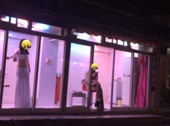 한 유튜버가 직접 찍은, '수원 홍등가' (동영상)