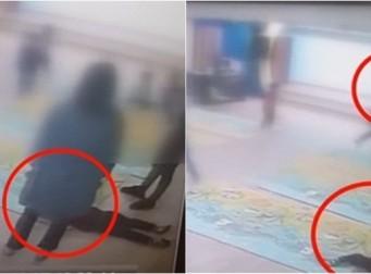 '눈 뼈' 부러진 아이 발로 툭툭 차고, '2시간 30분' 동안 버려둔 유치원 교사