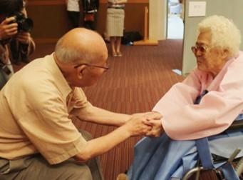 위안부 피해자 할머니를 만난 '일본군 할아버지'의 반응