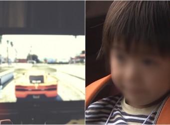 몰래 TV봤다고 5살 아들 묶고 전깃줄에 2시간 매달아 놓은 정신나간 아빠