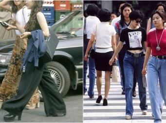 """""""유행은 돌고 돈다""""를 보여주는 90년대 대한민국 '패피'들 (사진 17장)"""
