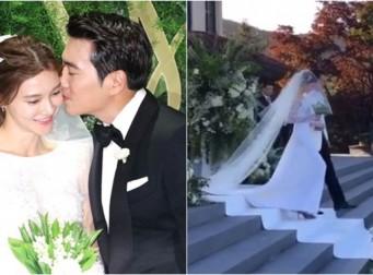 """""""그림 같이 아름다운"""" 주상욱♥차예련의 야외 결혼식 (동영상)"""