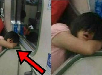 지하철서 '섬뜩하게' 나를 비웃고 있는 여성의 정체