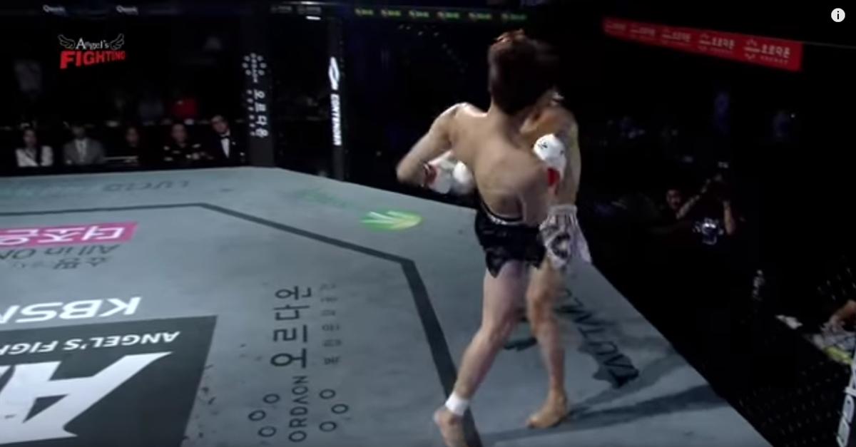 격투기 대회 출전해 경기 시작'40초' 만에 상대 KO시킨 아이돌 멤버